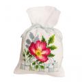 """Набор для вышивания Мешочек-саше """"Розовые цветы 3"""" """"Vervaco"""""""