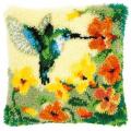 """Набор для вышивания Подушка """"Колибри и цветы"""" 40х40см """"Vervaco"""""""
