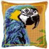 """Набор для вышивания Подушка """"Синий попугай"""" 40х40см """"Vervaco"""""""