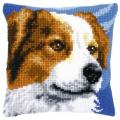 """Набор для вышивания Подушка """"Собака"""" 40х40см """"Vervaco"""""""