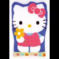"Набор для вышивания Подушка фигурная ""Hello Kitty с цветком"" 40х57см ""Vervaco"""