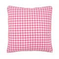 """Обратная сторона подушки c молнией 45х45см """"Розовая клетка"""" """"Vervaco"""""""