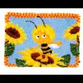 """Набор для вышивания Коврик """"Пчелка Майя на подсолнухе"""" 54х38см """"Vervaco"""""""
