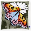 "Набор для вышивания Подушка ""Бабочка"" 40х40см ""Vervaco"""