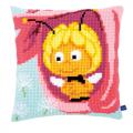 """Набор для вышивания Подушка """"Майя в розовом цветке"""" 40х40см """"Vervaco"""""""