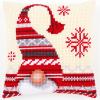 """Набор для вышивания Подушка """"Рождественский гном 2"""" 40х40см """"Vervaco"""""""