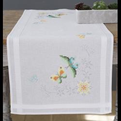 """Набор для вышивания Дорожка """"Цветы и бабочки"""" 40х100см """"Vervaco"""""""