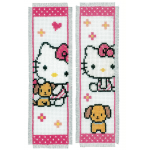 "Набор для вышивания Закладки ""Hello Kitty"" 2шт ""Vervaco"""