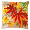 """Набор для вышивания Подушка """"Осенние листья"""" 40х40см """"Vervaco"""""""