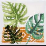 """Набор для вышивания Подушка """"Листья"""" 40х40см """"Vervaco"""""""