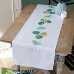 """Набор для вышивания Дорожка """"Ботанический листья"""" 38х142см """"Vervaco"""""""