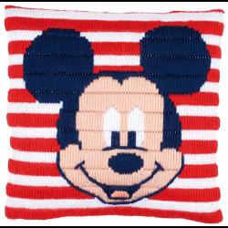 """Набор для вышивания Подушка """"Микки Маус"""" 25х25см """"Vervaco"""""""