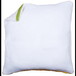 Обратная сторона подушки без молнии белая 45х45см
