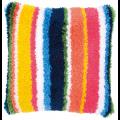 """Набор для вышивания Подушка """"Яркие линии"""" 40х40см """"Vervaco"""""""