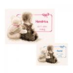 """Набор для вышивания """"Малыш и мишка"""" """"Vervaco"""""""