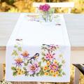 """Набор для вышивания Дорожка """"Цветы, птицы и бабочка"""" 40х100см """"Vervaco"""""""