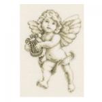 """Набор для вышивания """"Ангел с лирой"""" """"Vervaco"""""""