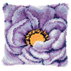 """Набор для вышивания Подушка """"Фиолетовый цветок"""" 40х40см """"Vervaco"""""""