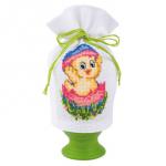 """Набор для вышивания Чехольчик для яйца """"Цыпленок"""" """"Vervaco"""""""