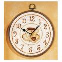 """Набор для вышивания Часы """"Кофейный мотив"""" """"Vervaco"""""""