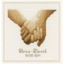 """Набор для вышивания """"Руки влюбленных"""" """"Vervaco"""""""