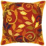 """Набор для вышивания Подушка """"Осенние листья 2"""" 40х40см """"Vervaco"""""""