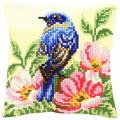 """Набор для вышивания Подушка """"Птица в цветах шиповника"""" 40х40см """"Vervaco"""""""