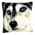 """Набор для вышивания Подушка """"Взгляд волка"""" 40х40см """"Vervaco"""""""