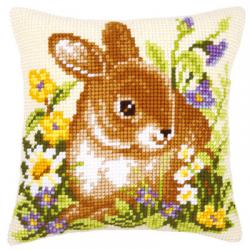 """Набор для вышивания Подушка """"Кролик"""" 40х40см """"Vervaco"""""""