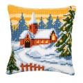"""Набор для вышивания Подушка """"Рождество"""" 40х40см """"Vervaco"""""""