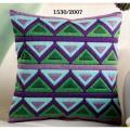 """Набор для вышивания Подушка """"Зелено-сиреневые треугольники"""" 40х40см """"Vervaco"""""""