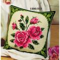 """Набор для вышивания Подушка """"Розовые розы"""" 40х40см """"Vervaco"""""""