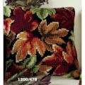 """Набор для вышивания Подушка """"Разноцветные листья"""" 40х40см """"Vervaco"""""""