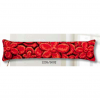 """Набор для вышивания Подушка от сквозняка """"Красные цветы"""" 80х20см """"Vervaco"""""""