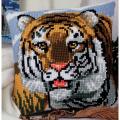 "Набор для вышивания Подушка ""Тигр"" 40х40см ""Vervaco"""