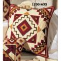 """Набор для вышивания Подушка """"Бордовый орнамент 2"""" 40х40см """"Vervaco"""""""