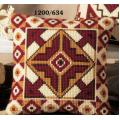 """Набор для вышивания Подушка """"Бордовый орнамент 3"""" 40х40см """"Vervaco"""""""