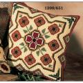 """Набор для вышивания Подушка """"Коричнево-зеленый орнамент 8"""" 40х40см """"Vervaco"""""""