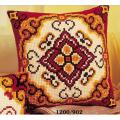 """Набор для вышивания Подушка """"Красно-желтый орнамент 2"""" 40х40см """"Vervaco"""""""
