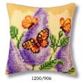 "Набор для вышивания Подушка ""Бабочки"" 40х40см ""Vervaco"""
