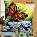 """Набор для вышивания Подушка """"Бабочка на ромашках"""" 40х40см """"Vervaco"""""""