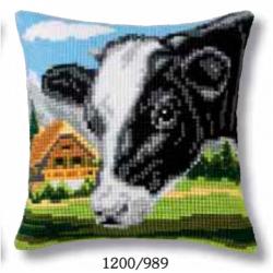 "Набор для вышивания Подушка ""Корова"" 40х40см"