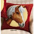 """Набор для вышивания Подушка """"Лошадь в кругу"""" 40х40см """"Vervaco"""""""