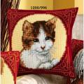 """Набор для вышивания Подушка """"Кошка в кругу"""" 40х40см """"Vervaco"""""""