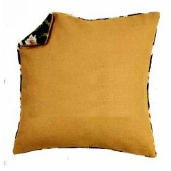 Обратная сторона подушки без молнии 45х45см