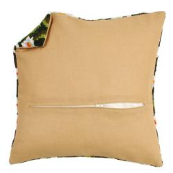 Обратная сторона подушки c молнией 45х45см