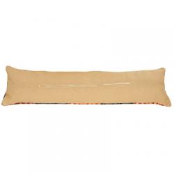 Обратная сторона подушки c молнией 85х25см