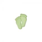 """Пуговицы """"Ножки"""" салатовые 18мм 12шт. """"Gamma"""""""