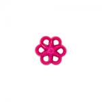"""Пуговицы """"Цветок"""" розовые 15мм 12шт. """"Gamma"""""""