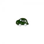 """Пуговицы """"Автомобиль"""" зеленые 18мм 12шт. """"Gamma"""""""